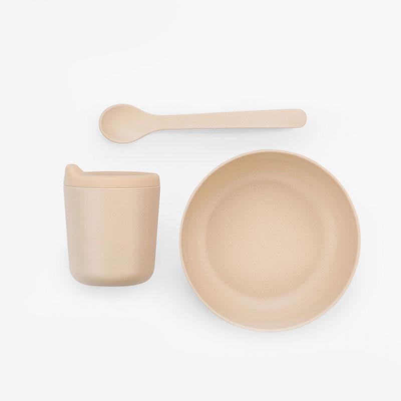 Ekobo Baby Bamboo Feeding Set - Blush