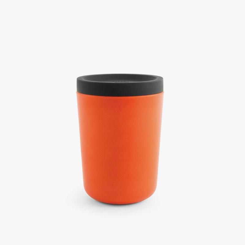 AMODO Berlin Ekobo, Reusable Coffee Cup, Persimmon