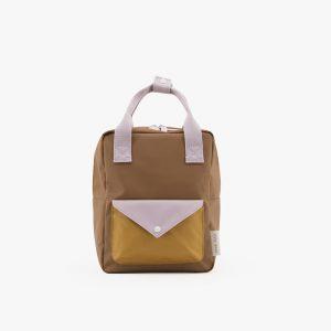 Amodo, Sticky Lemon, Small Backpack, Sugar Brown