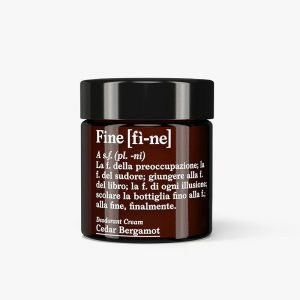 AMODO Fine Cedar Bergamot Natural Cream Deodorant