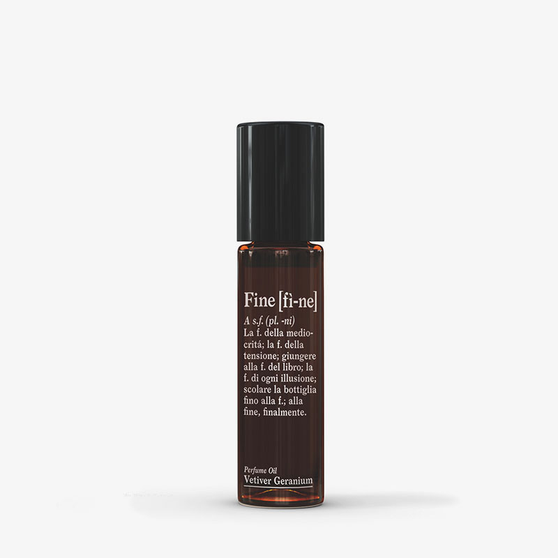 AMODO Berlin Fine Vetiver Geranium Perfume Oil