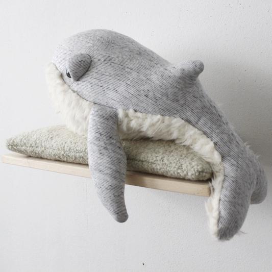 GrandPa Whale Big Stuffed handmade