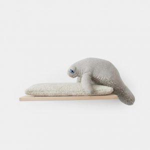Manatee Big Stuffed Stuffed Animal Handmade
