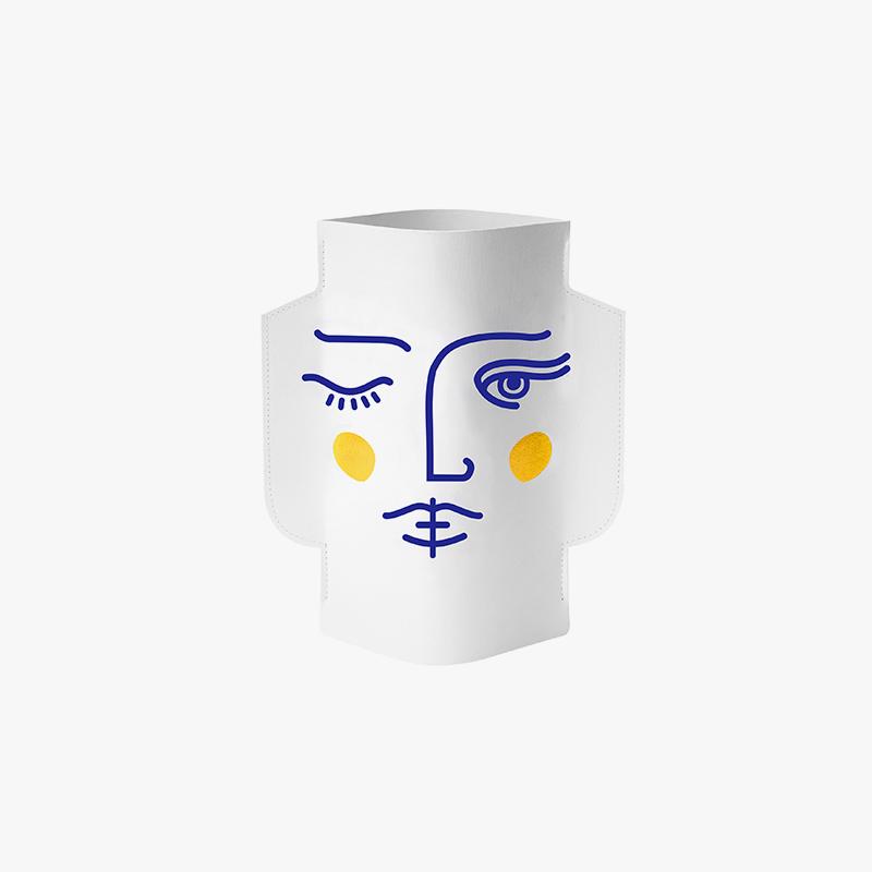 Octaevo Paper vase AMODO Berlin Germany Deutschland