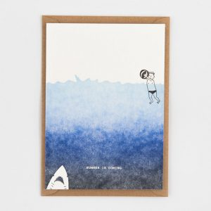 AMODO Berlin Studio Flash summer is coming Postcard