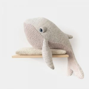 Whale Big Stuffed Stuffed Animal Handmade