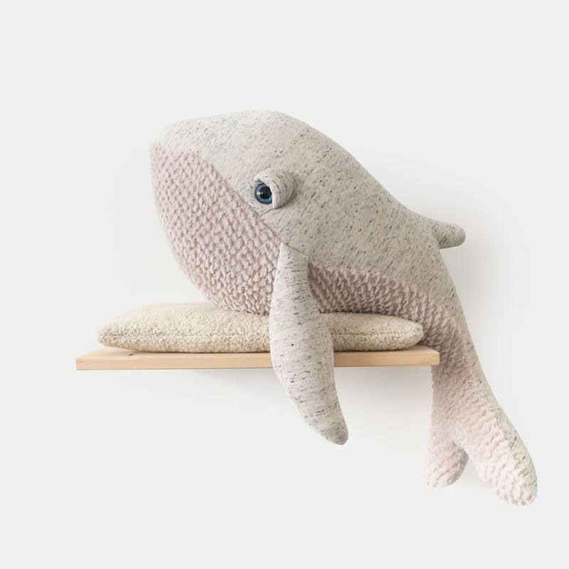 Whale Big Stuffed Stuffed Animal Handmade