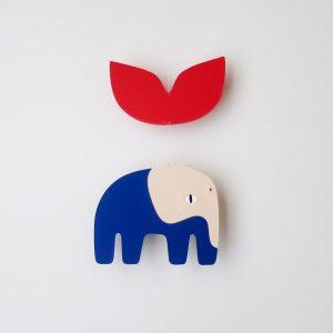 AMODO Berlin Blaise Elephant Mobile Tricot