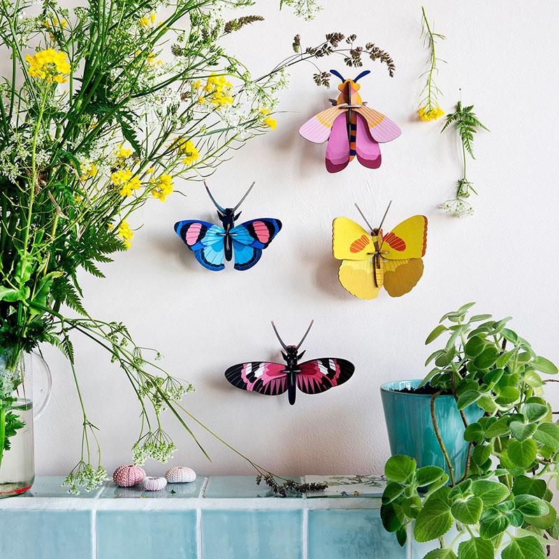 AMODO Berlin Deutschland Germany Studio Roof Paper Toy Butterflies