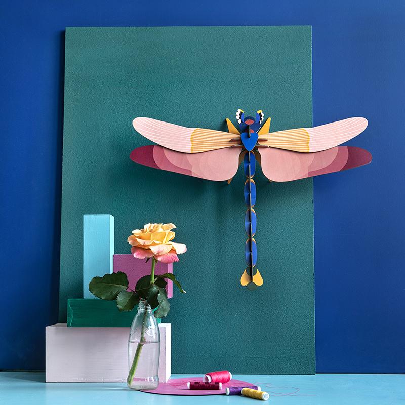 AMODO Berlin Deutschland Germany Studio Roof Paper Toy Butterfly