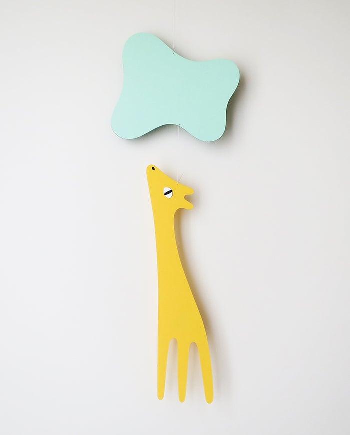 AMODO Berlin Gerda Giraffe Mobile Tricot