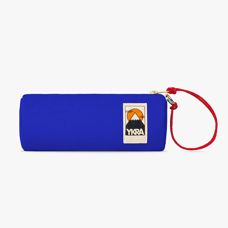 Ykra Tube Pencil Case Blue