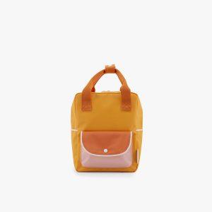 AMODO Berlin Sticky Lemon wanderer backpack small sunny yellow