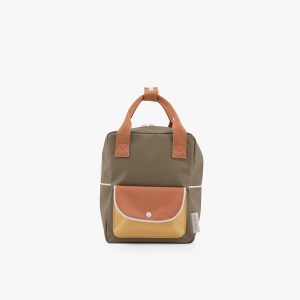 AMODO Berlin Sticky Lemon wanderer backpack small seventies green