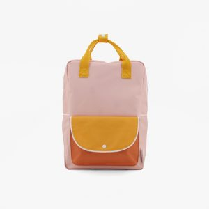 AMODO Berlin Sticky Lemon wanderer backpack large candy pink