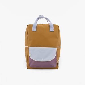 AMODO Berlin Sticky Lemon wanderer backpack large caramel fudge