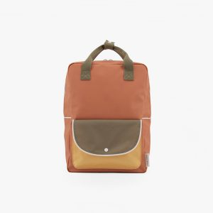 AMODO Berlin Sticky Lemon wanderer backpack large faded orange