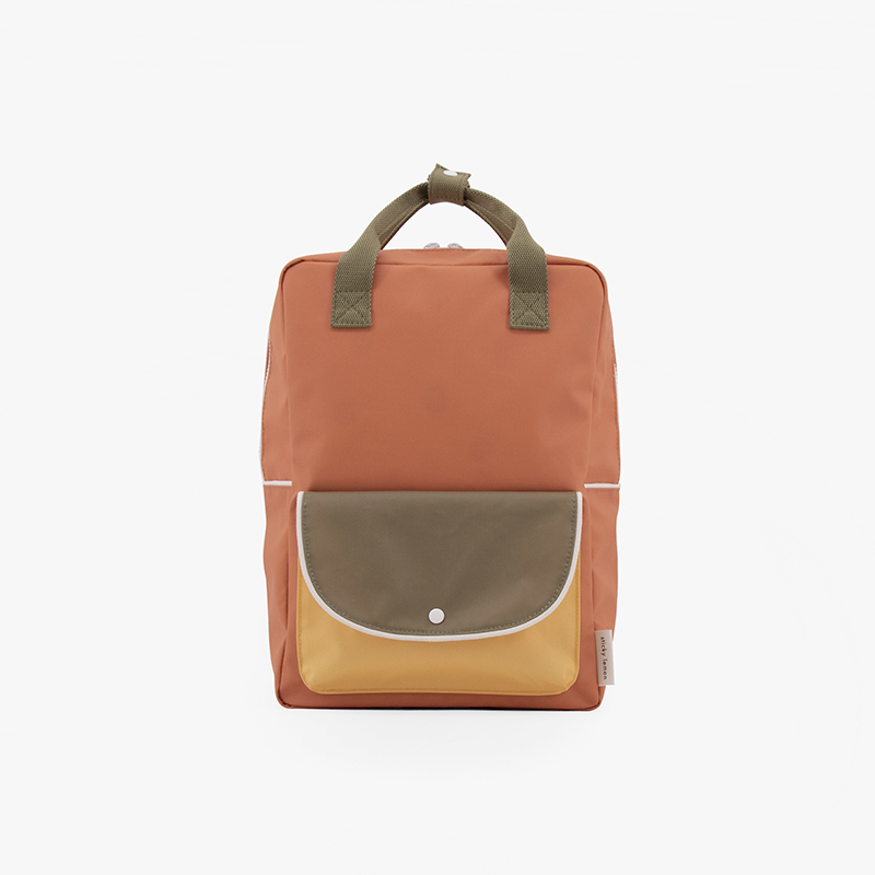 AMODO Berlin Sticky Lemon wanderer backpack large faded orange