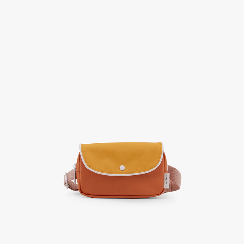 AMODO Berlin Fanny Pack Wanderer Carrot and Yellow