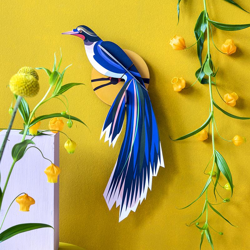 AMODO Berlin Deutschland Germany Studio Roof Paper Toy Vogel Bird