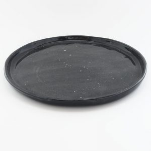AMODO Berlin Laura Turrini Ceramic Plate Cosmos Night