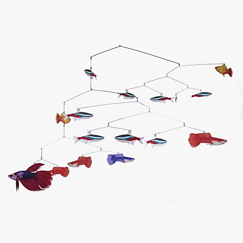 Mobile Tropical Fish