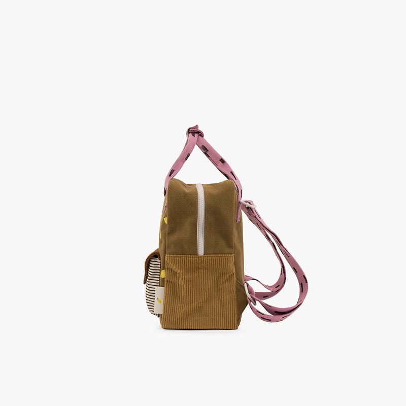 Small Backpack Rucksack Corduroy Sticky Lemon AMODO Berlin Deutschland Germany