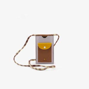 AMODO Berlin Germany Deutschland Sticky-Lemon-phone-pouch-chocolate-sundae-daisy-yellow-mauve-lilac